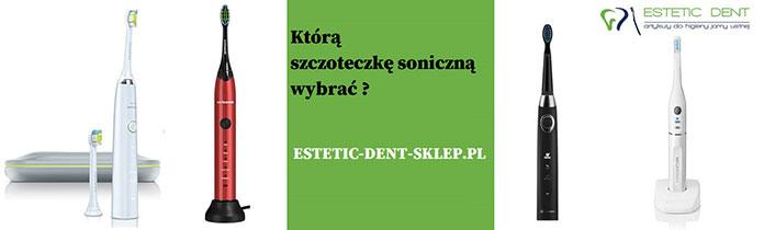 szczoteczki soniczne estetic dent